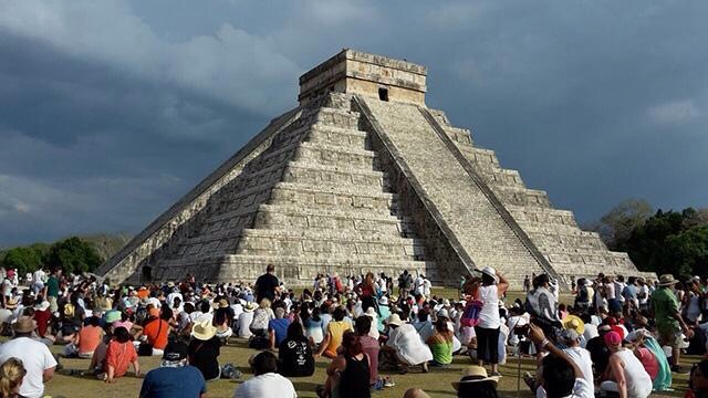 Chac impide a Kukulcán dar bienvenida a la primavera