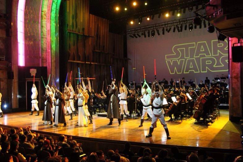 Furor en Bellas Artes por Star Wars