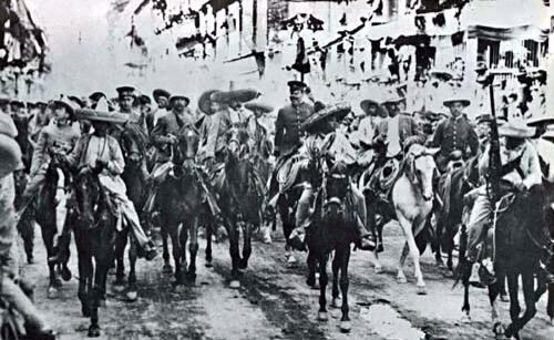 Momentos claves de la Revolución Mexicana