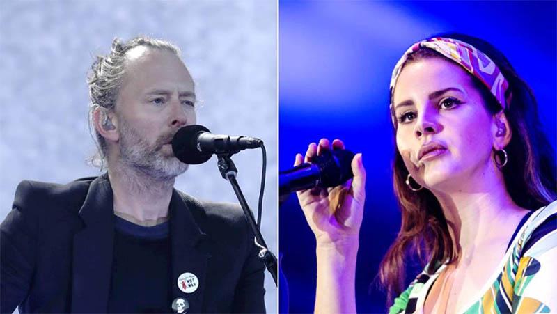 Radiohead demanda a Lana del Rey por el supuesto plagio de 'Creep'