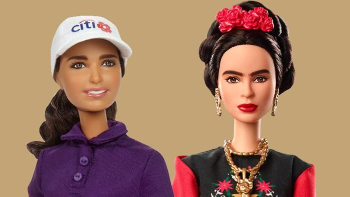 Barbie lanzará muñeca Frida Kahlo y Lorena Ochoa