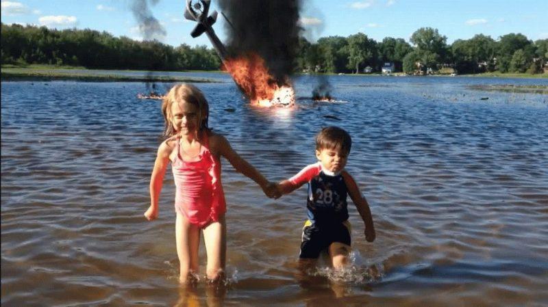 Un padre hace videos geniales de su hijo con efectos especiales