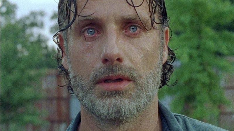 Rick se despide de The Walking Dead