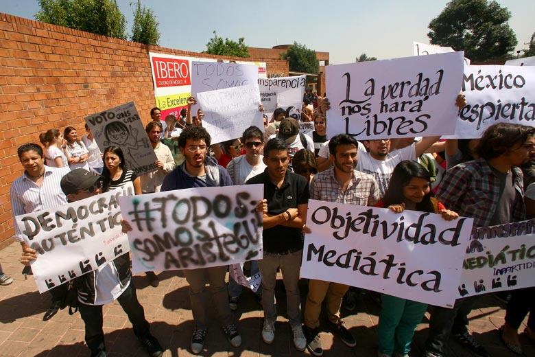 Reprueba rector actos intimidatorios contra estudiantes de la Ibero