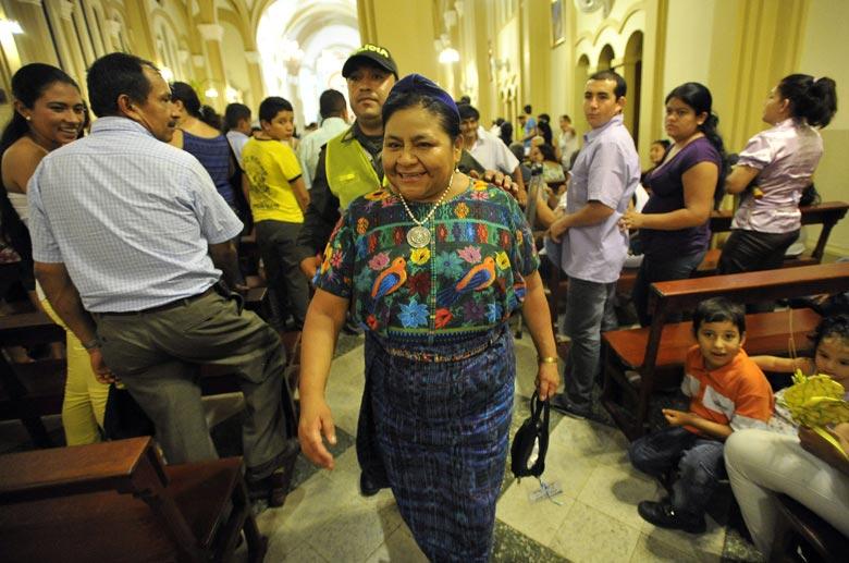 Impunidad y militarización, cáncer para el Estado, señala Rigoberta Menchú