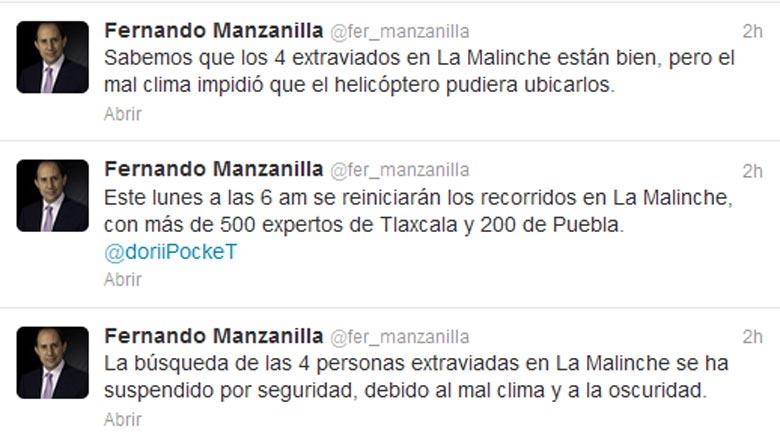 Continúa el rescate de personas perdidas en La Malinche