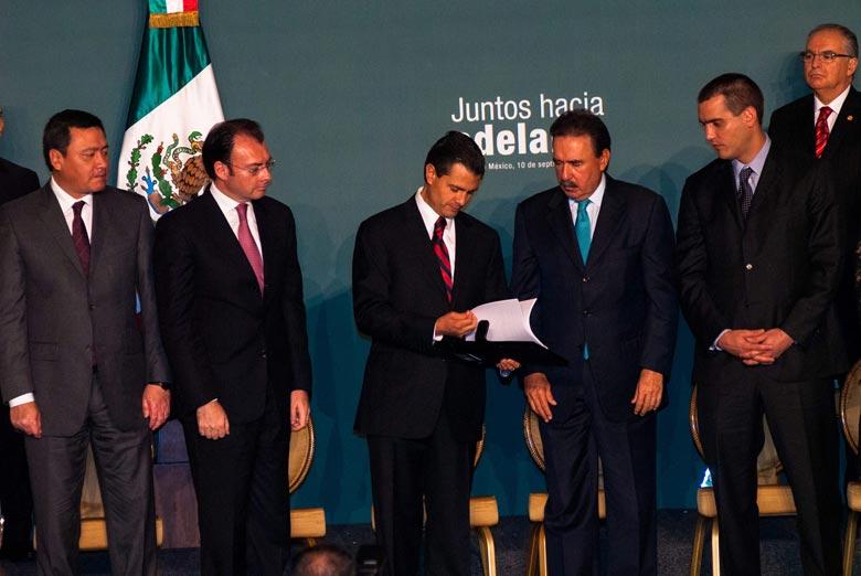 """Busca Peña Nieto """"transparentar"""" su gestión"""