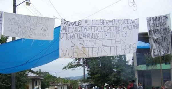 Instalan mesa de diálogo para solucionar conflicto en Olintla