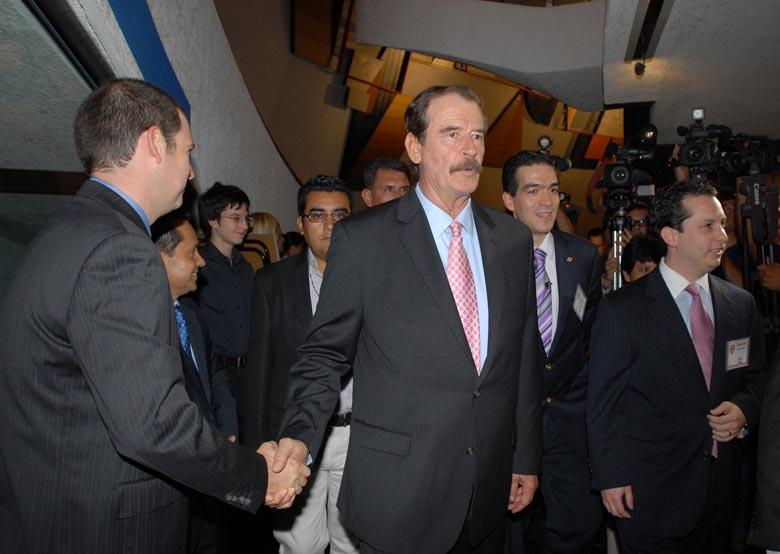 """""""El sueño de opio"""" de Vicente Fox"""