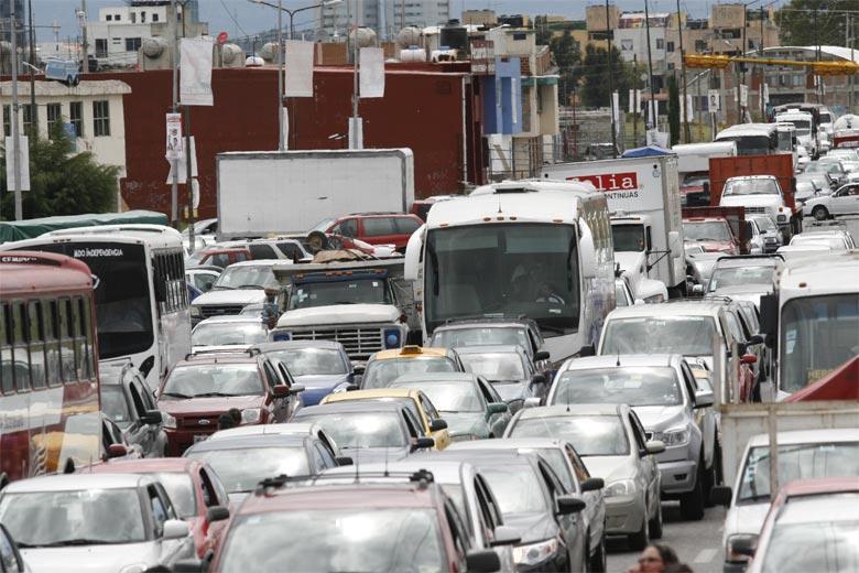 El transporte público, la pesadilla vial