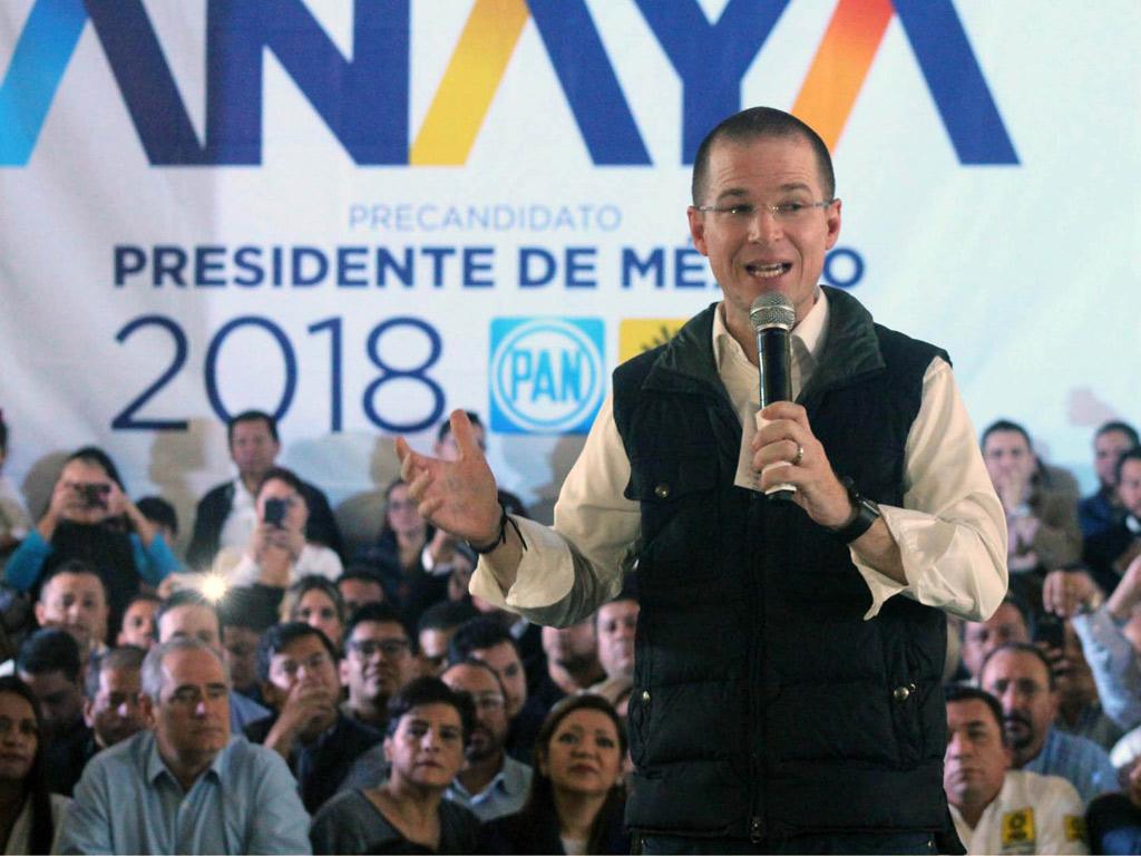 Pese a los ataques, apareceré en la boleta electoral: Anaya