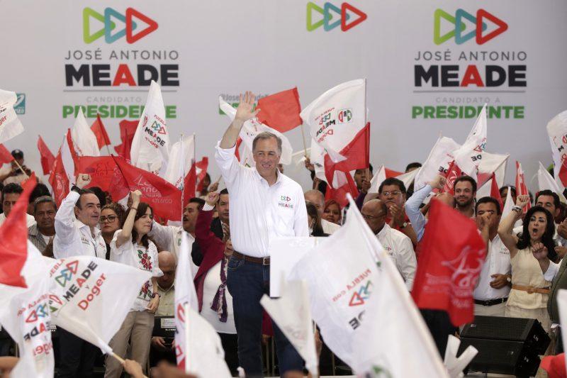 Meade ofrece en Puebla más tranquilidad en caso de ganar las elecciones