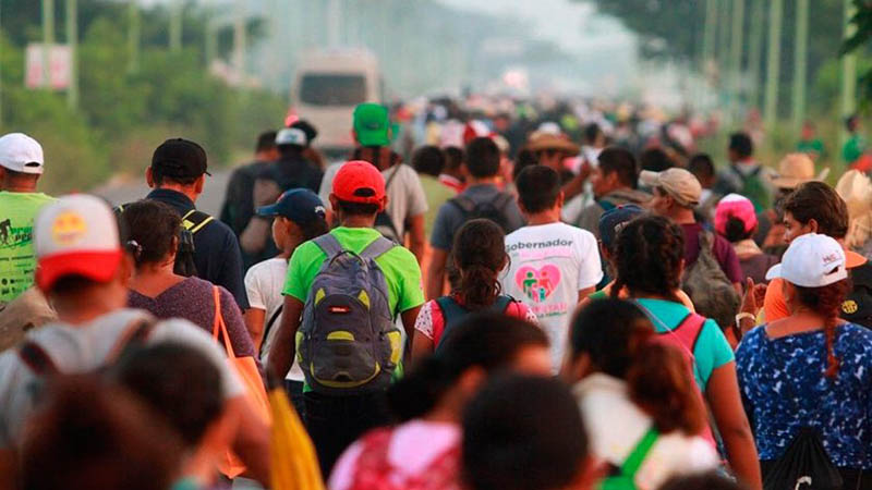 «No podrá entrar en Estados Unidos», reitera Trump a caravana migrante