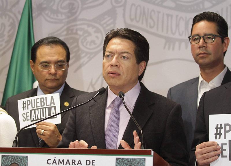 Elección en Puebla debe repetirse, considera Mario Delgado