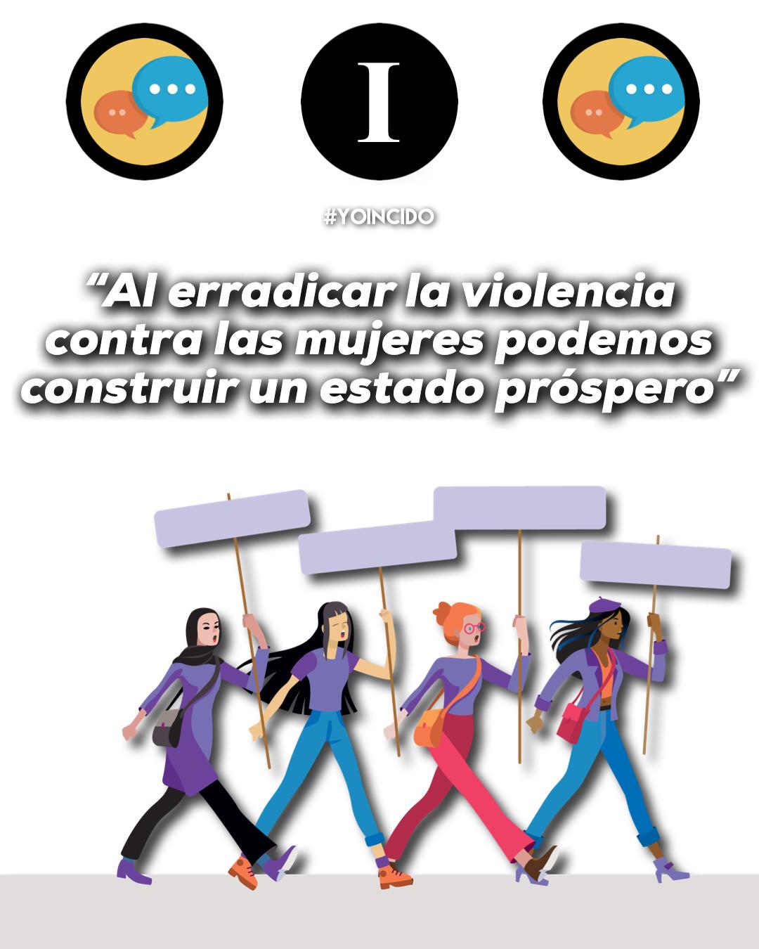 «La violencia hacia las mujeres, un problema que debemos erradicar»
