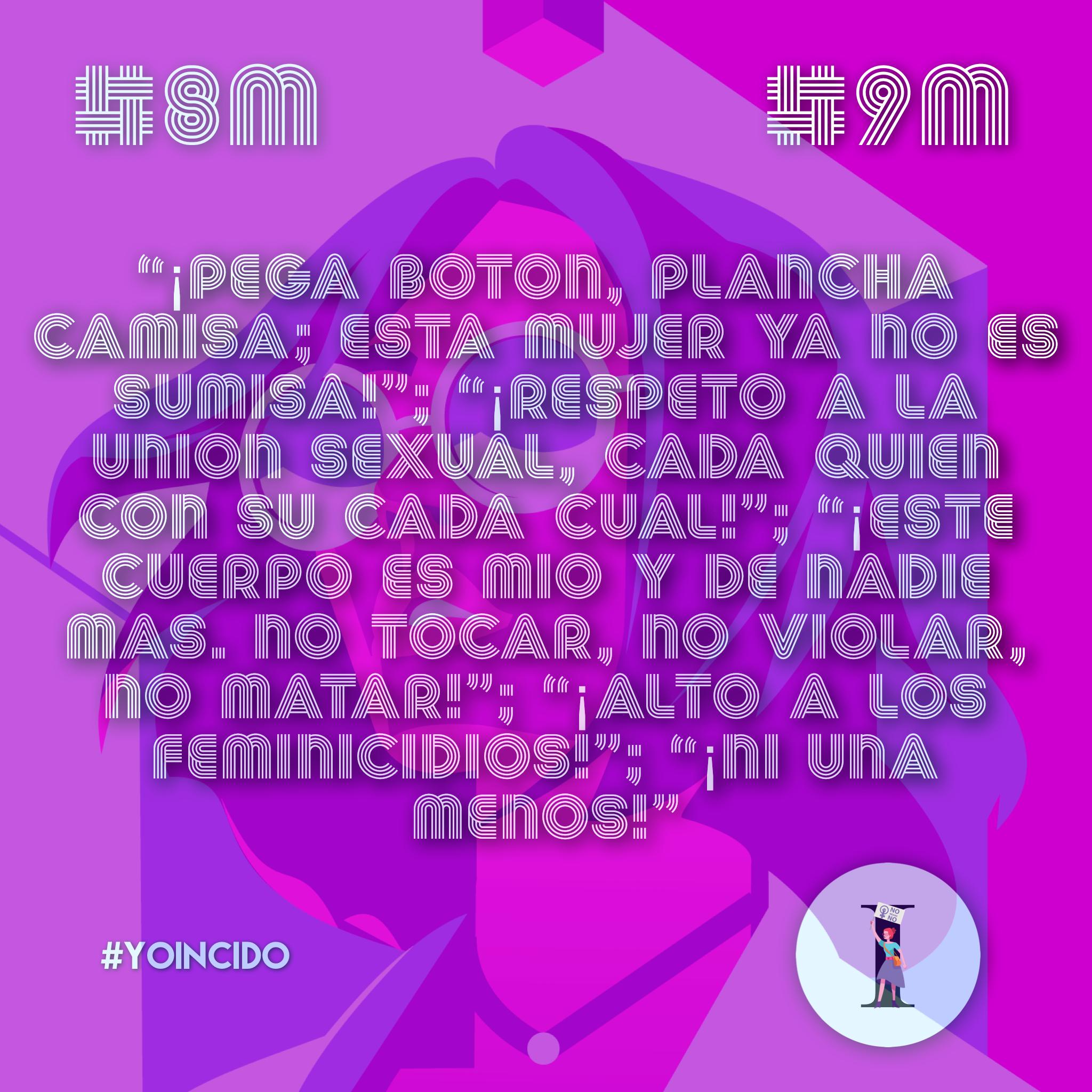 #NiUnaMás: recuerdan a 57 víctimas de feminicidio