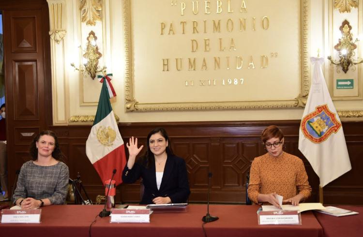 Puebla capital estrecha lazos con Ciudades Patrimonio Mundial ante retos y desafíos por Covid-19