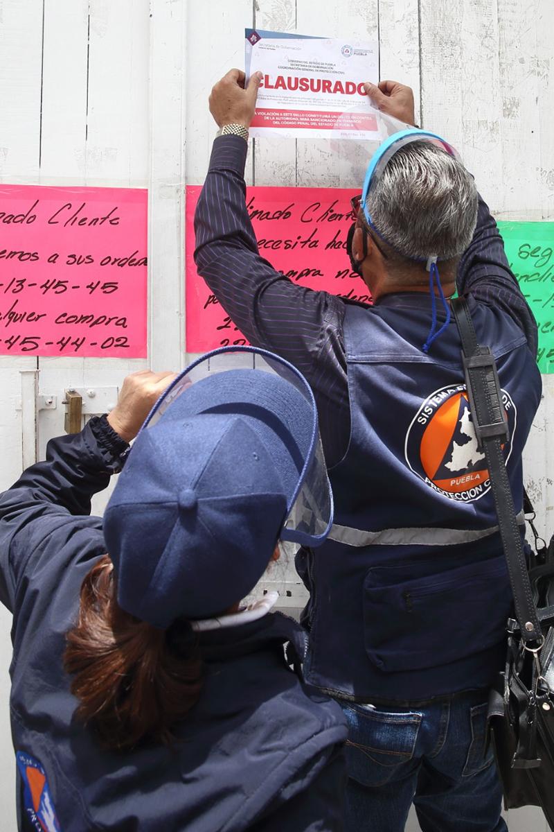 «Verificación de medidas sanitarias en comercios no viola derechos», argumenta Barbosa