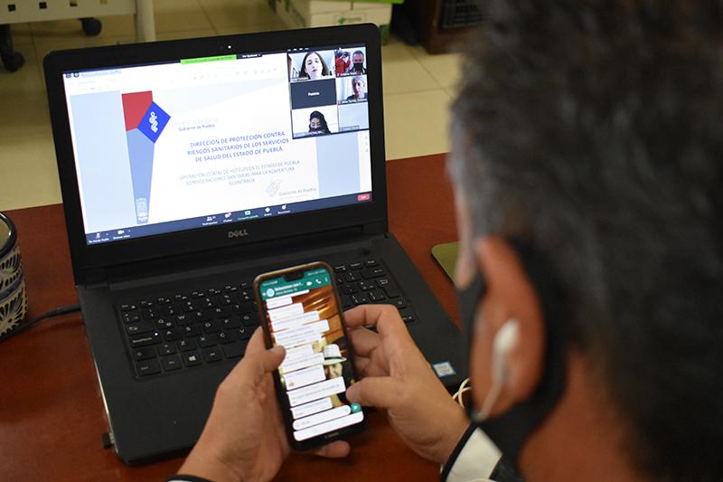Turismo Municipal y Cofepris guían a hoteleros en medidas sanitarias para reapertura del sector