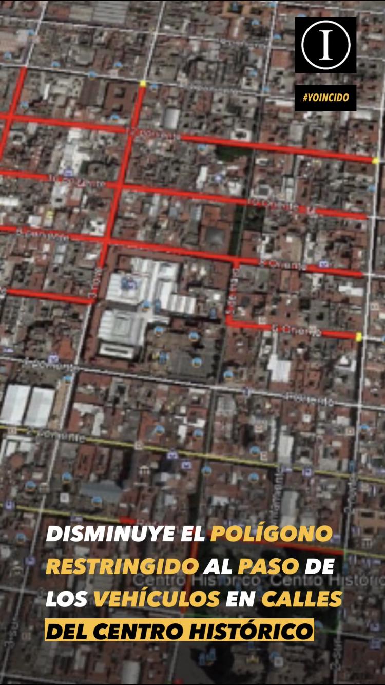 Gobierno de la Ciudad comienza reapertura paulatina de calles en el Centro Histórico