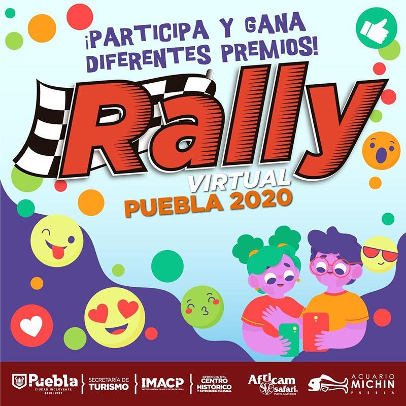 Secretaría de Turismo municipal premia a ganadores de Rally Virtual