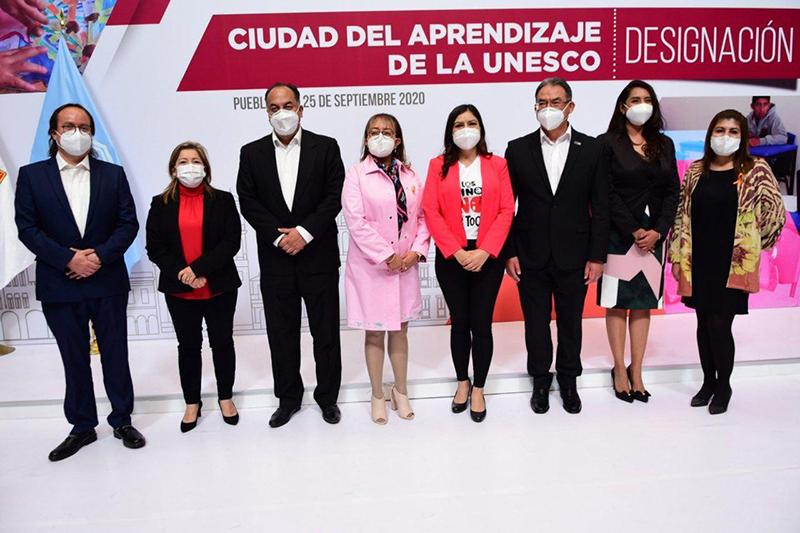 Ayuntamiento de Puebla oficializa ingreso a la Red de Ciudades del Aprendizaje