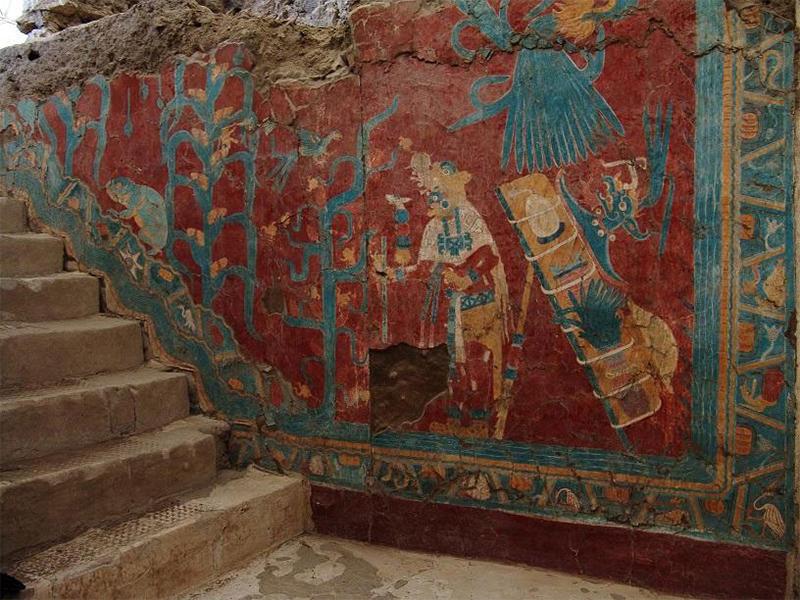 Se cumplen 45 años del descubrimiento de las pinturas murales de Cacaxtla