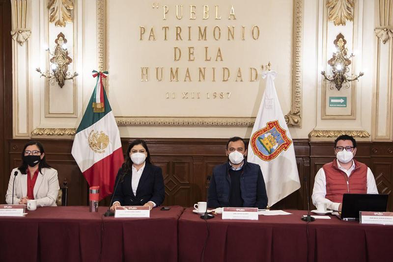 Presenta Gobierno de la Ciudad plan de ejecución para intervenir el corredor 5 de Mayo