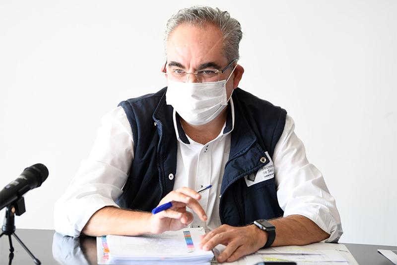 Registra Salud disminución en contagios y decesos por Covid-19