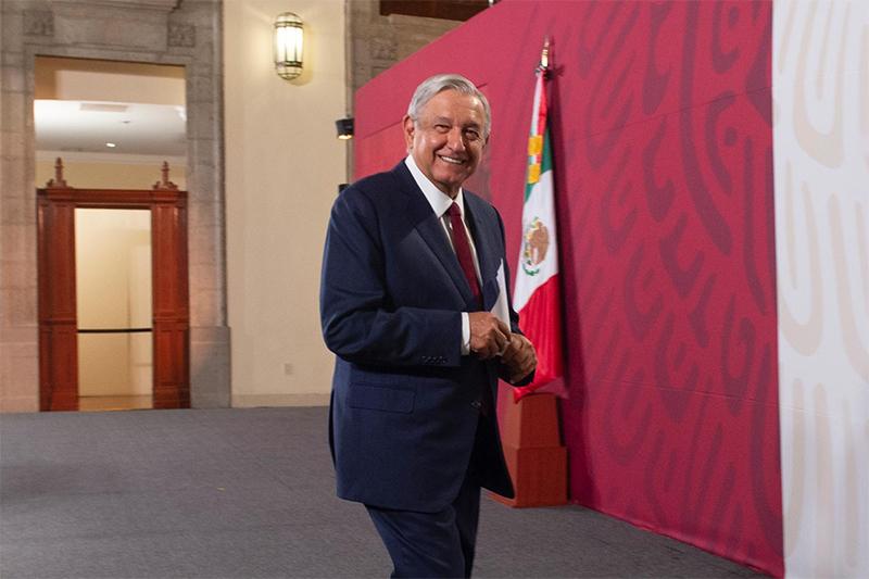 López Obrador destaca recuperación económica y de empleos aun durante emergencia sanitaria por Covid-19