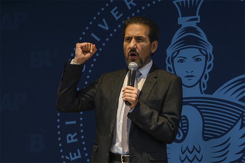 El rector Esparza no personifica la autonomía universitaria de la BUAP, señala el Gobierno de Puebla