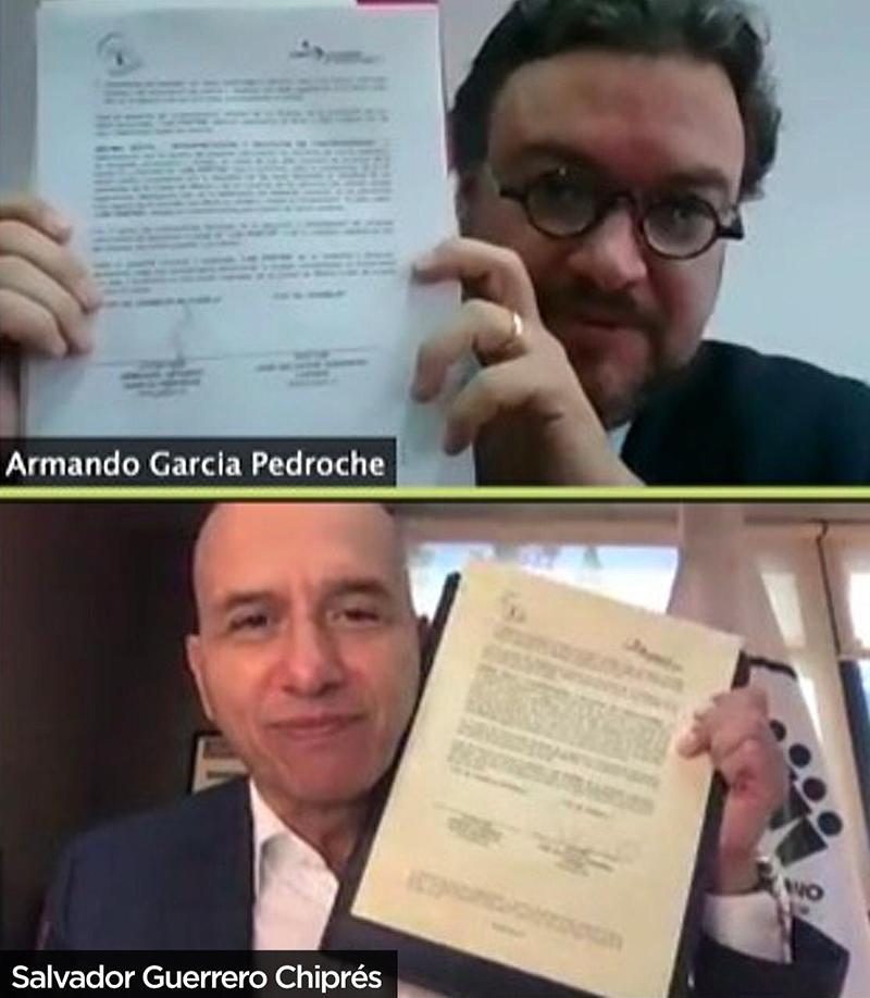 Fortalecen cooperación CDMX y Puebla en el combate a la trata, extorsión y fraude