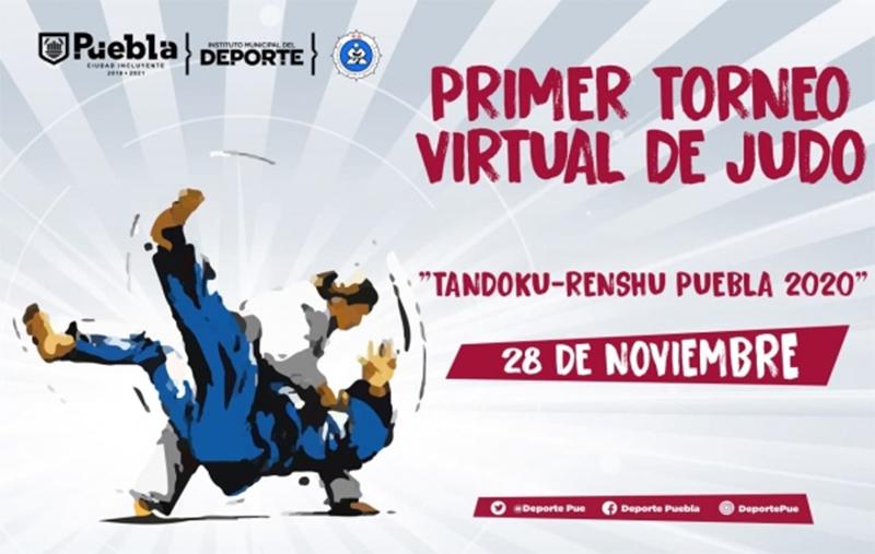 Invita Gobierno de la Ciudad de Puebla a participar en el primer Torneo Virtual de Judo