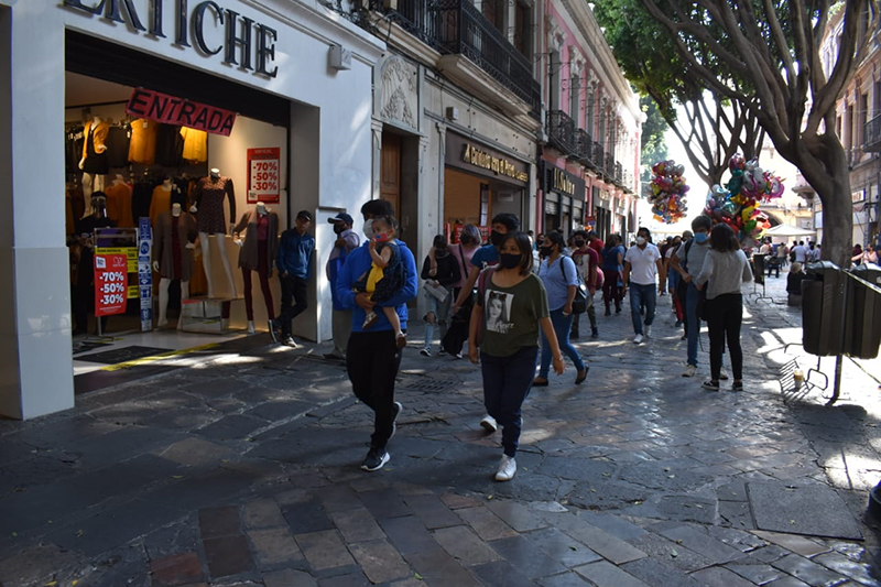 Ponen orden en calles del Centro Histórico