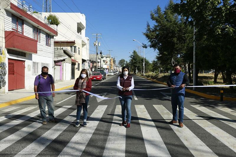 Ayuntamiento de Puebla mejora la accesibilidad a colonias del norte de la ciudad