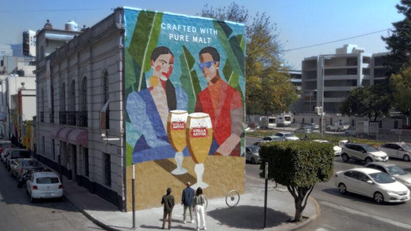"""""""Stella Artois está elaborada 100% con granos de malta"""""""