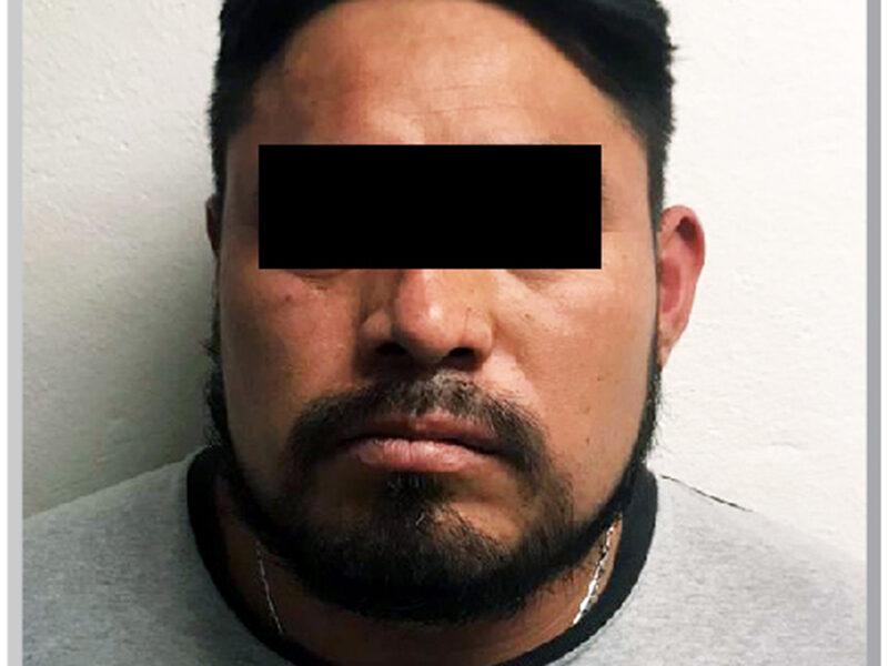 """FGE Puebla aprehende a Felipe N, alias """"El Pirulí"""", presuntamente relacionado con varios hechos delictivos"""