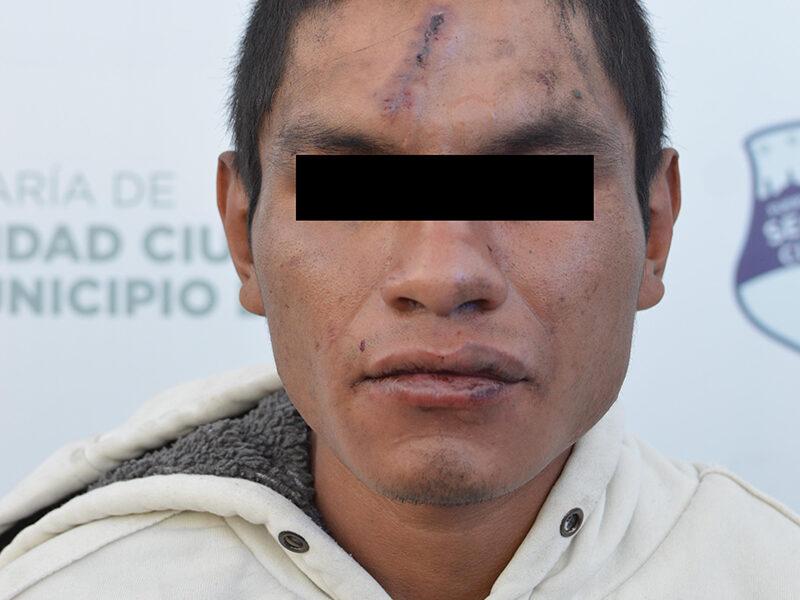 Detiene Policía Municipal de Puebla a hombre presuntamente relacionado en el homicidio de un varón