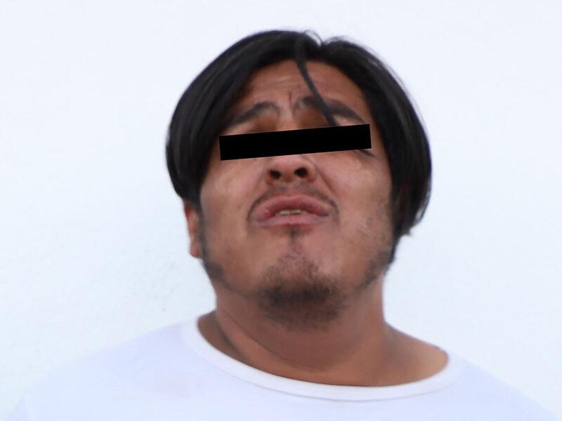 Aseguraron Guardia Nacional y Policía Municipal de Puebla más de 20 dosis de aparente droga; un hombre fue detenido
