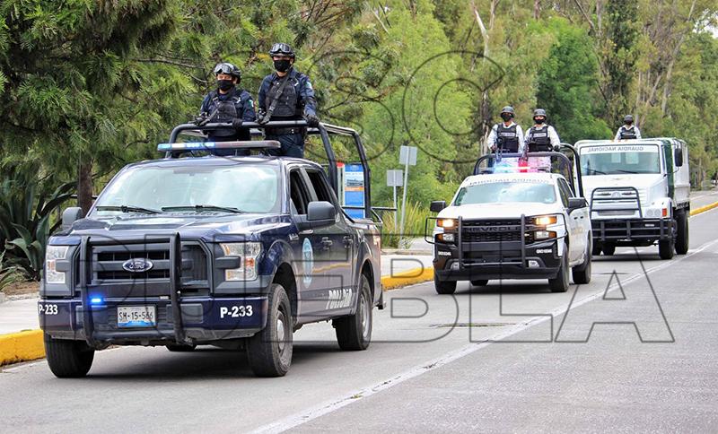Durante la primera semana de noviembre, Policía Municipal de Puebla anunció la detención de más de un centenar de personas