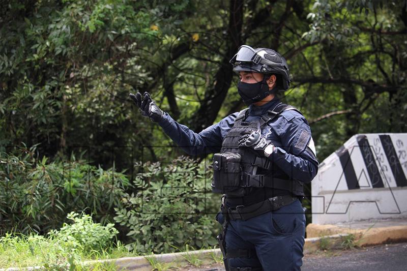 Con estrategia y determinación, Policía Municipal de Puebla detuvo a 97 personas en tan solo una semana