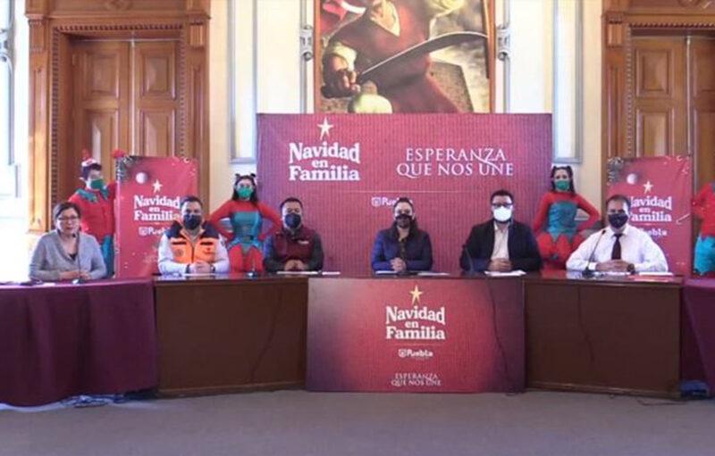 """Presenta Ayuntamiento de Puebla campaña """"Navidad en Familia, esperanza que nos une"""""""