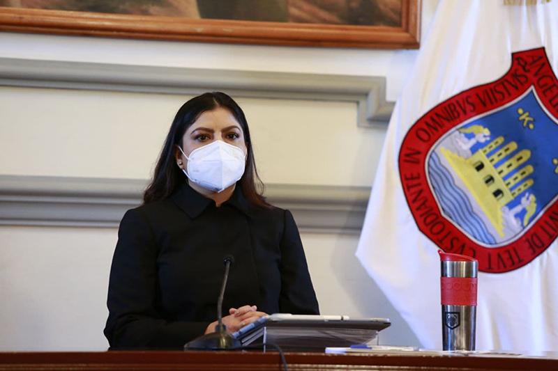 El poder público no puede tener otro origen ni otra base que la voluntad nacional: Claudia Rivera Vivanco