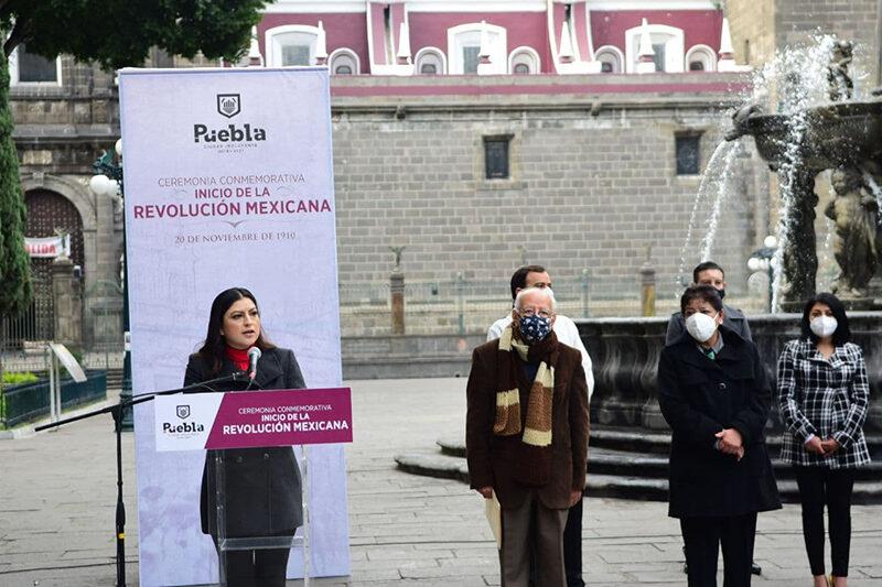 Sigamos haciendo de Puebla una Ciudad revolucionaria: Claudia Rivera Vivanco