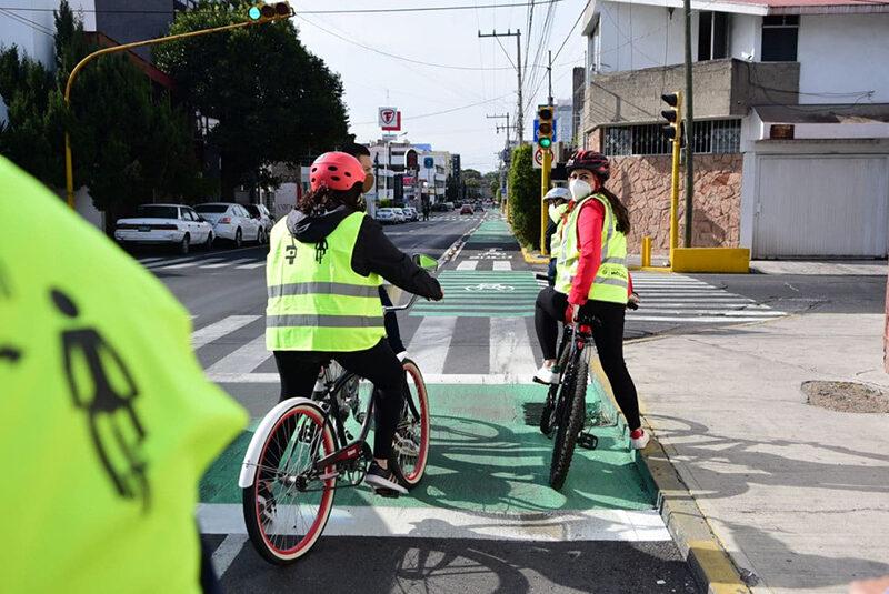 Ayuntamiento de Puebla consolida red ciclista con ciclovía 2 Norte-Sur